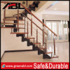 Ablinox Stainless Steel Stair Railing with Wood Handrail (DD115)