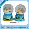 Resin Love Snow Globe with Lovers Inside
