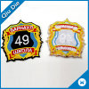 Custom Round Self-Adhesive Badge /Velcro/ Iron on Embroidery Patch for Clothing/Hat