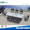 Outdoor Garden Aluminum Furniture Polywood Teak Extend Dining Table (T16)
