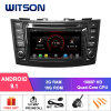 Witson Quad-Core Android 9.1 Car DVD GPS for Suzuki Swift 2011-2012 2g DDR3 RAM Memory