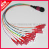 Fiber Optic MPO to LC Hybrid Fanout Cable