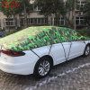 Camouflage Silver 3 Layer Real Hail Protection Anti Snow Anti Ice Fast Padded Auto Car Cover