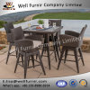 Well Furnir Wf-17120 5PC Bar Height Dining Set with Cushion