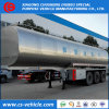 3 Axle 35000L Insulated Milk Transport Tank Trailer