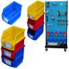 Hot Sale Workshop Spare Plastic Stackable Storage Part Box Bins