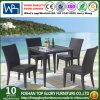 Outdoor Rattan Chair and Dining Table Set Manufacturer From China (TG-1665)