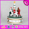 2015 New Arrival Musical Box for Holiday Sale, Best Wooden Carousel Music Box, Wooden Merry-Go-Round Musical Toy for Gift W07b011c