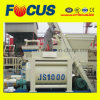 Fully-Automatic Lifting Concrete Mixer, Js1000 Twin Shaft Concrete Mixer