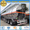 3 BPW Axles Aluminium Tank Trailer 45kl Fuel Tanker Semi Trailer