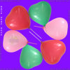 Inflatable Colour Printing Heart Shape Balloon for Children Playing