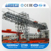 Remote Control Double Beams Mobile Gantry Crane