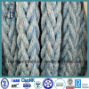4-120mm Double Braided Mooring Rope with ABS Certificate