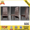 Hotel Fabric Luxury High Back Comfortable Dining Chairs