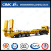 3 Axle 50-80t Cimc Low Bed Trailer Lowboy Semi Trailer Trcuk Tractor Trailer