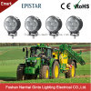 Round 12W 3inch Flood LED Work Lamp for Tractor Trailer John Deere Cat (GT2009-12W)