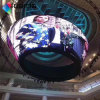 Indoor Flexible Flexional Special Shape LED Screen Module 240mm*120mm Cabinet 960*960mm Customized Shape LED Display Billboard