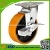 Material Handling Equipment Polyurethane Wheel Heavy Duty Caster