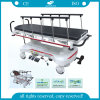 AG-HS007 Hospital Hydraulic Stainless Steel ISO&Ce Stretcher Trolley