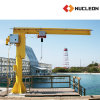 Nucleon Slewing Pillar Jib Crane with Chain Hoist Pendant Control