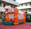 Beauty Inflatable Tiger Bouncers Carton Animal Bouncer for Kids (CHB258)