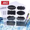 Waterproof Oilproof Scratch-off Customized Piece DOT Self-Adhesive Sticker Label