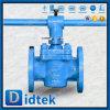 Didtek Flange Ends Wcb Lever Operated Sleeve Plug Valve