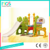 Ce High Wuality Plastic Slide and Swing Toys with Football and Basketball Hoop (HBS17028C)
