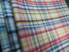 Shirt Used Cotton Yarn Dyed Check Fabric