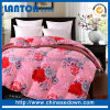 Indian Wood Floral Printed Goose Down Summer Quilted Quilt