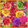 Digital Printing Summer Lady Vintage Silk Scarf (F13-0076)
