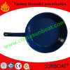 Customized Enamel Frying Pan/Enamel Skillet with Handle