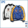 Customzied New Design Embroidery Bomber Nylon Slim Fit Jacket