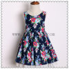 Wholesale Summer Baby Casual Girls Dress Kid′s Wear Clothing for 6 Years Old
