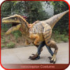 High Quality Lifesize Silicon Rubber Dinosaur Costume