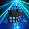 2PCS 10W High Brightness Tri-Color LED Double Derby Light / LED Effect Light / Stage Lighting