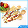 5PCS Spoon for Cooking Bamboo Wood Teaspoon Utensils Kitchen Tool