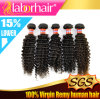 Malaysian Virgin Hair Weft Curly /Virgin Human Manufacturer