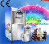 New Technology Stainless Steel Three Flavor Soft Ice Cream Machine