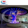 Cylinder LED Sign with RGB Color Sign Board for Stage Store Concert Mobile LED Sign