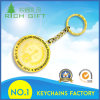 Accepted Custom Metal Keychain with Gold Keyring for Wholesale