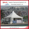 8X8 Aluminum Large Gazebo Party Pagoda Tent with Wooden Floor