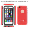 Waterproof Mobile Case with Metal Back Cover for iPhone 6 Plus 5.5inch (RPTMLPRO-6P)