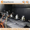 China's Export of Energy-Saving Manual Spray Coating Production Line for The Manufacture of Various Cookware