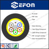 12 Core Singlemode FRP Strength Member Communication Fiber Optic Cable