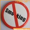 No Smoking Logo Tin Button for Advertising (YB-BT-08)