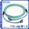 MPO-MPO Trunk Aqua Fiber Optical Patch Cord