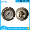 63mm Ss Case Brass Internals Pressure Gauge with Font Flange