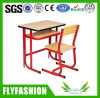 School Furniture Wooden Single Desk and Chair (SF-65S)