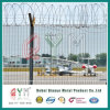 Welded Wire Mesh Fence/Security Airport Fence Top with Razor Wire